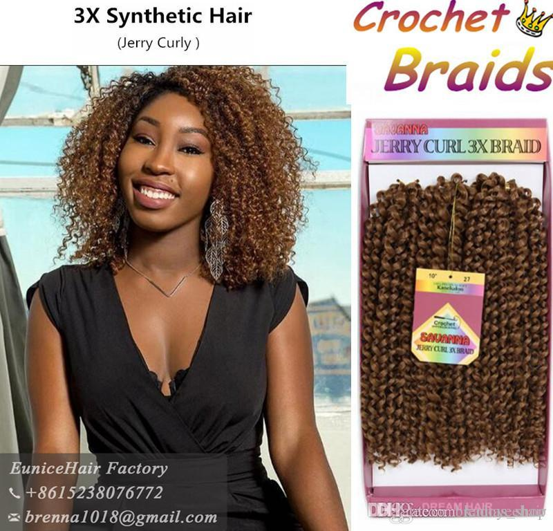 Crochet Hair Extensions Light Hair Synthetic Bundles Curly Weave Bug