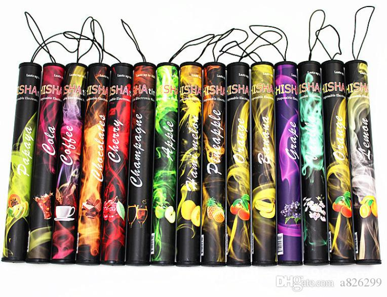 2017 the E-ShiSha Time E Hookah 500 Puffs Pipe Pen Electronic Cigarette Stick Sticks Shisha Hookah disposable e-cig free ship