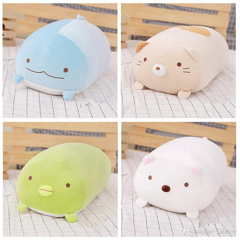 28cm Japanese Animation Sumikko Gurashi Plush Toys San-X Corner Bio Cartoon Doll for Kids Children Soft Cute Birthday Girls LA071