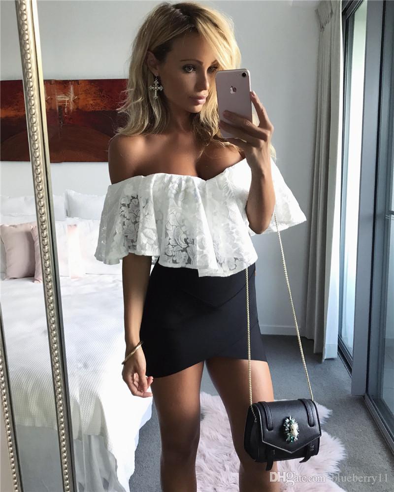 Black Sexy Strapless Deep V Neck Jumpsuit Romper Party Women Lace Jumpsuit Casual Overalls Bodysuit S-XL