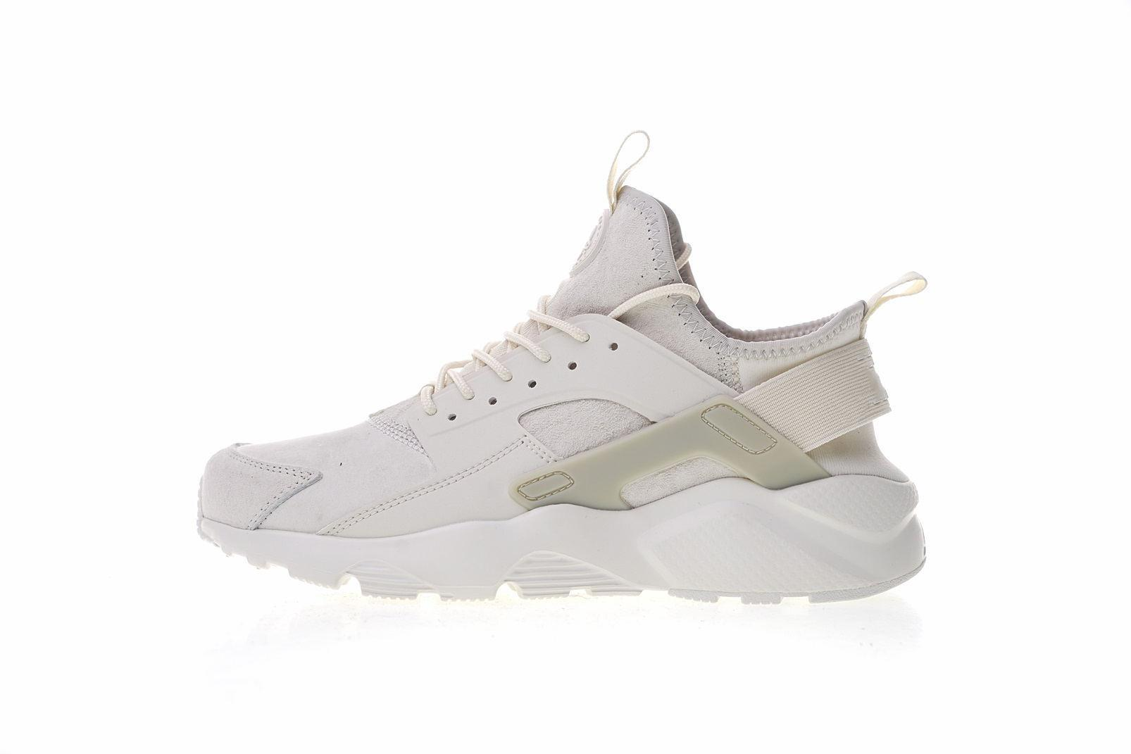 1c1fa1d80 2018 High Quality AIR Huarache 4 Ultra ID Retro Jogging Shoes Man Women  White Green Size 36-45 Sport Sneakers Online with  61.08 Pair on  Shxcdppzc s Store ...