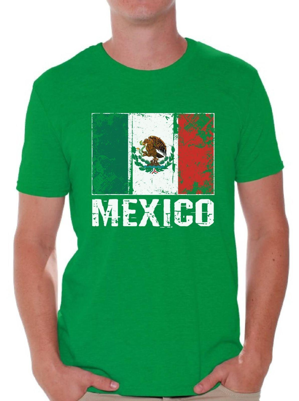 88502a2a881 Mexico T Shirt Mexico Shirt 2018 Mexico Soccer Shirts For Men Fun Shirts T  Shirts Online Shopping From Yuxin002