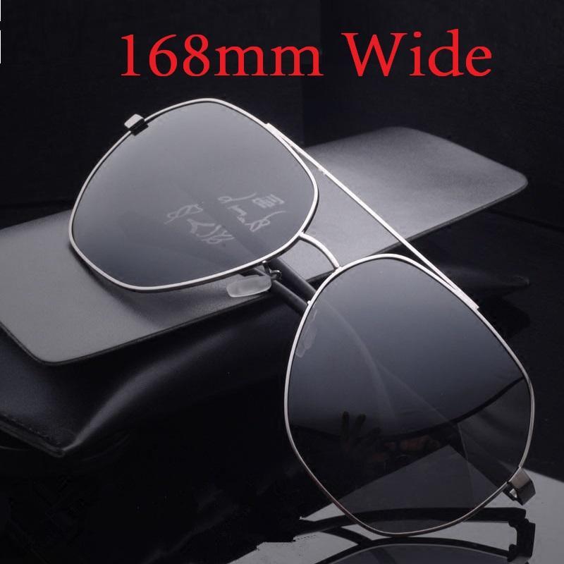 d8f603e4ba Vazrobe 168mm Oversized Sunglasses Men Polarized Fat Face Driving Sun  Glasses For Man Mirrored Anti Glare UV400 Sunglass Male Sunglasses  Eyeglasses From ...