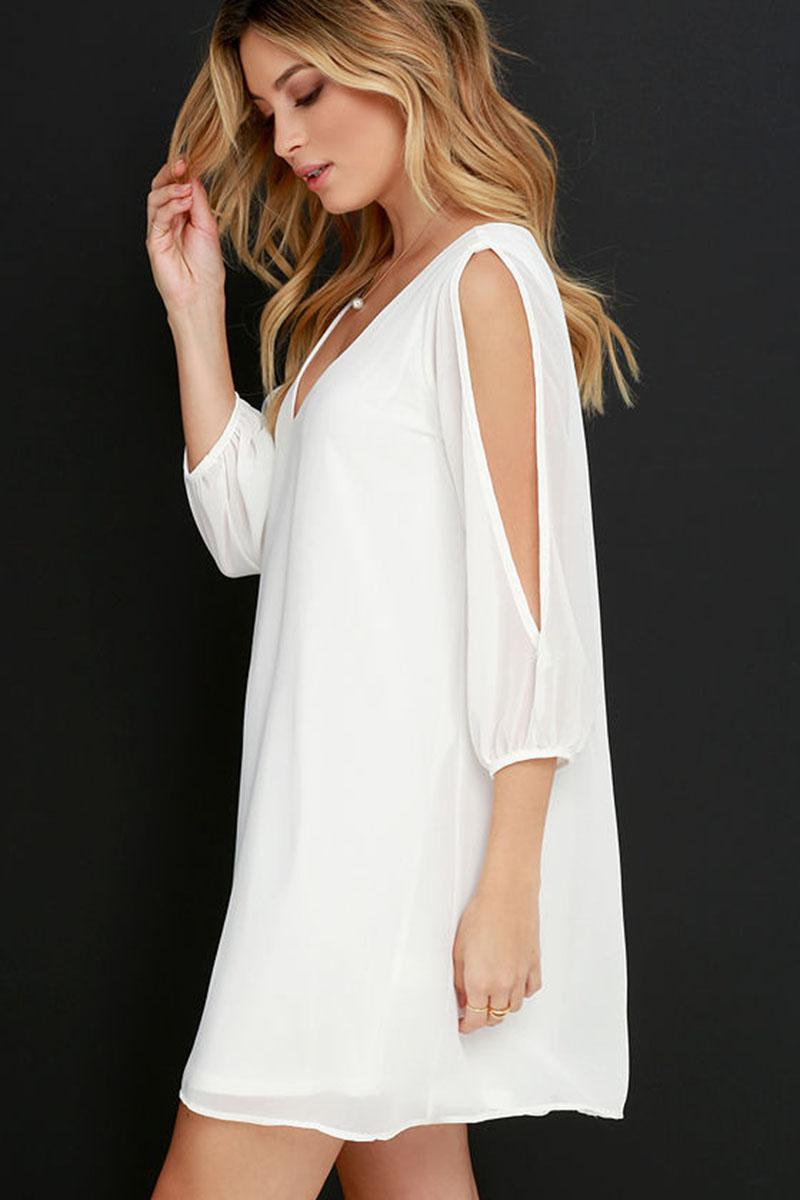 06844b6b605e Women Chiffon Dress Sexy Off Shoulder Rompers Loose Clothes Summer Shirt  With Short Sleeve Woman Sexy Shirts Clothes Dresses Clothing White Dress  With Gold ...