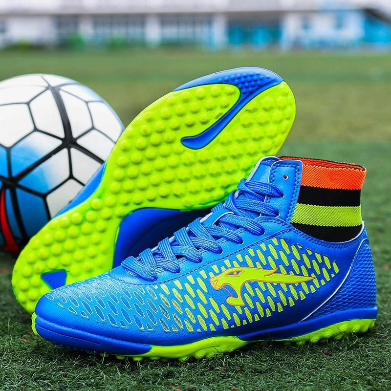 Plus Size 34 46 Men Boys Soccer Boots Football Boots Waterproof Soccer  Cleats Boot Sports Shoes Outdoor Indoor Soccer Training Boots Black Boots  For Women ... e51c308a65360