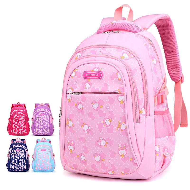 ee82efb3452534 Aolida Girls School Bags Cartoon Pattern Kid Backpack Children School  Backpack Girl Bag Children Princess Backpacsac Enfant Ladies Handbags Book  Bags From ...