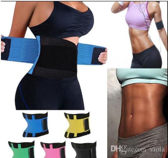 Frauen Fitness Taille Cincher Taille Trimmer Korsett Lüften Einstellbare Bauch Trimmer Trainer Gürtel Gewichtsverlust Verlust Gürtel 20 stücke