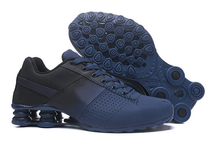 pretty nice 4a8b4 18eec Acheter Nike Air Max Shox Chaude Hommes Chaussures Avenue Livrer Actuel NZ R4  Hommes Basketball Chaussure Homme Sport Running Designer Sneakers Sport  Hommes ...