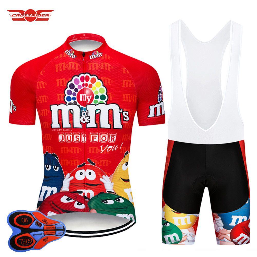 Crossrider 2018 MMS Cycling Jersey Set Funny MTB Uniform Bike Clothing  Bicycle Wear Ropa Ciclismo Mens Short Maillot Culotte Cycling Short Bicycle  Apparel ... 59ac396b0