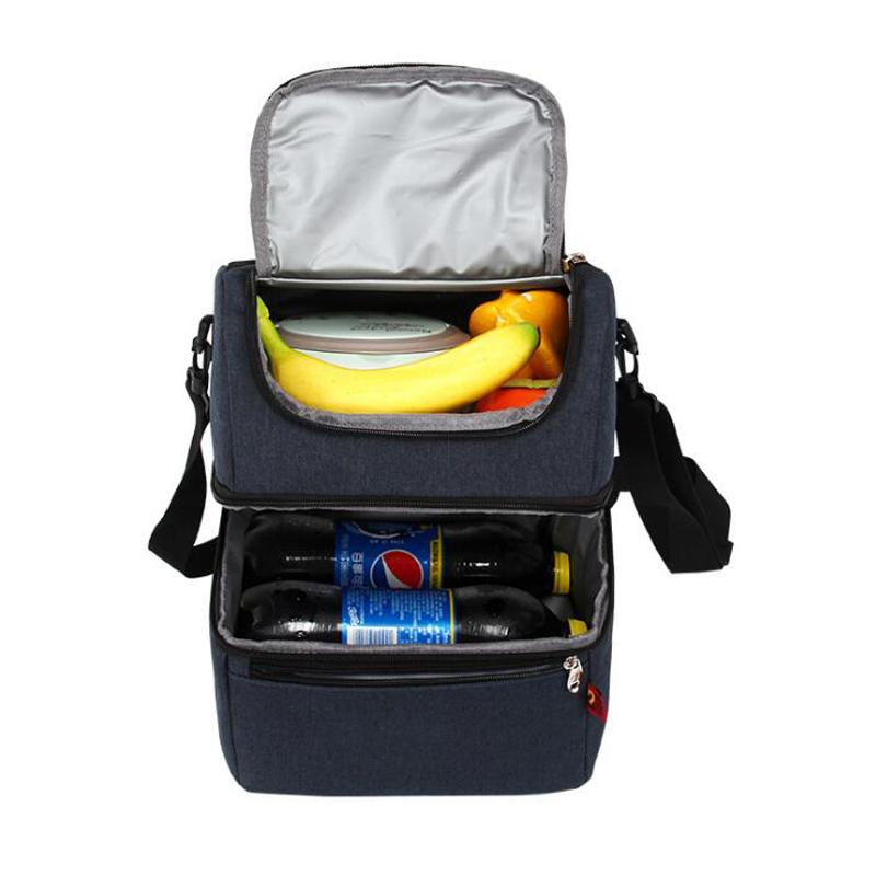 Lunch Bags For Women Men Lunch Box Bag Double Ice Pack Waterproof Leak  Proof Insulation Fresh Bento Bag Purses For Sale Stone Mountain Handbags  From Lusta fbebd72518