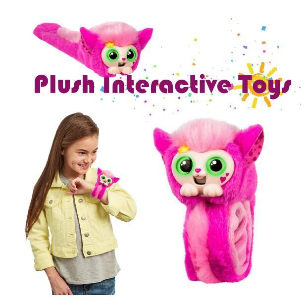 Grosshandel Kleine Live Haustiere Wrapples Blau Rosa Plusch Spielzeug