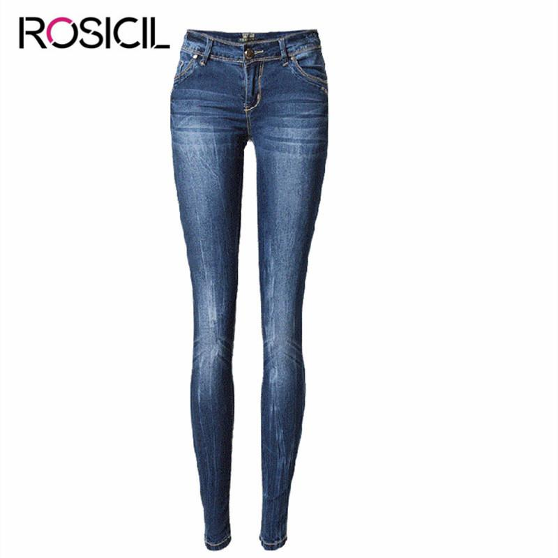 b780b7e4617 2019 New Style Skinny Jeans Women Low Waist Jeans Female Blue Denim Pencil  Pants Lady Fashionable Style High Quality Female From Baxianhua