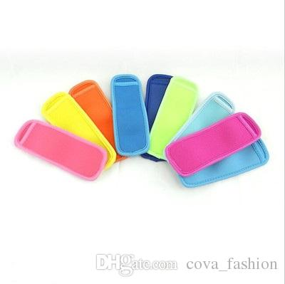 Neoprene Popsicle Holders Ice Sleeve Tubs Party Drink Holders Ice Sleeves Freezer Ice Covers Popsicle Sleeves