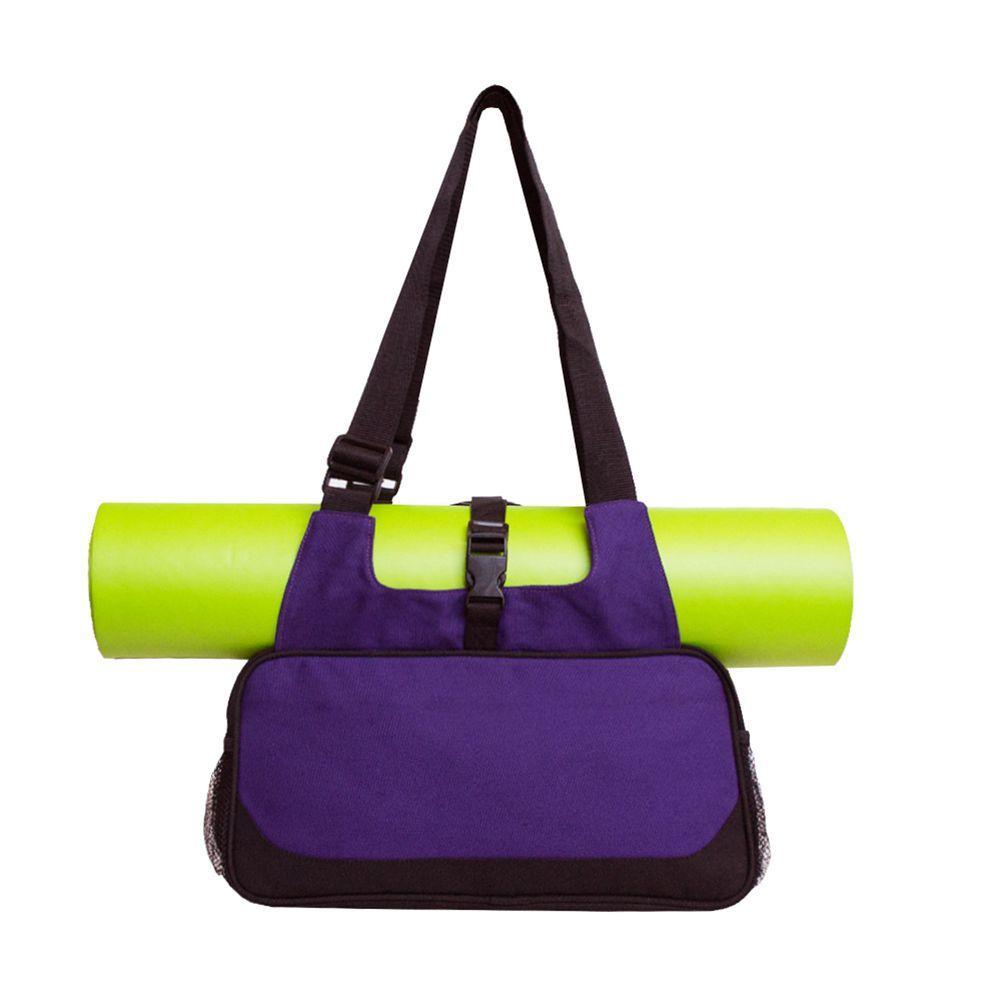 Yoga Mat Bag T Pilates Merrithew Canada Duffle Style Black Stylish Efficient Lightweight