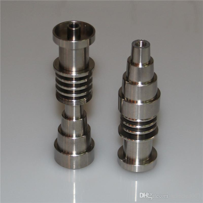 Titanium Nail Adjustable Domeless 10mm 14mm 18mm Male Female Titanium Nails For 16mm Nail Coil, High Quality Oil Rigs Nail