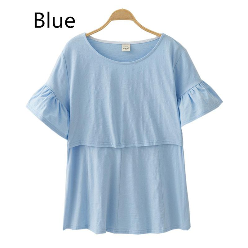 8aaf1ef69de40 2019 Breast Feeding Nursing Tops Maternity Clothes Pregnancy Clothing  Maternity T Shirt Breastfeeding Tees Clothes For Pregnant Women From  Okbrand, ...