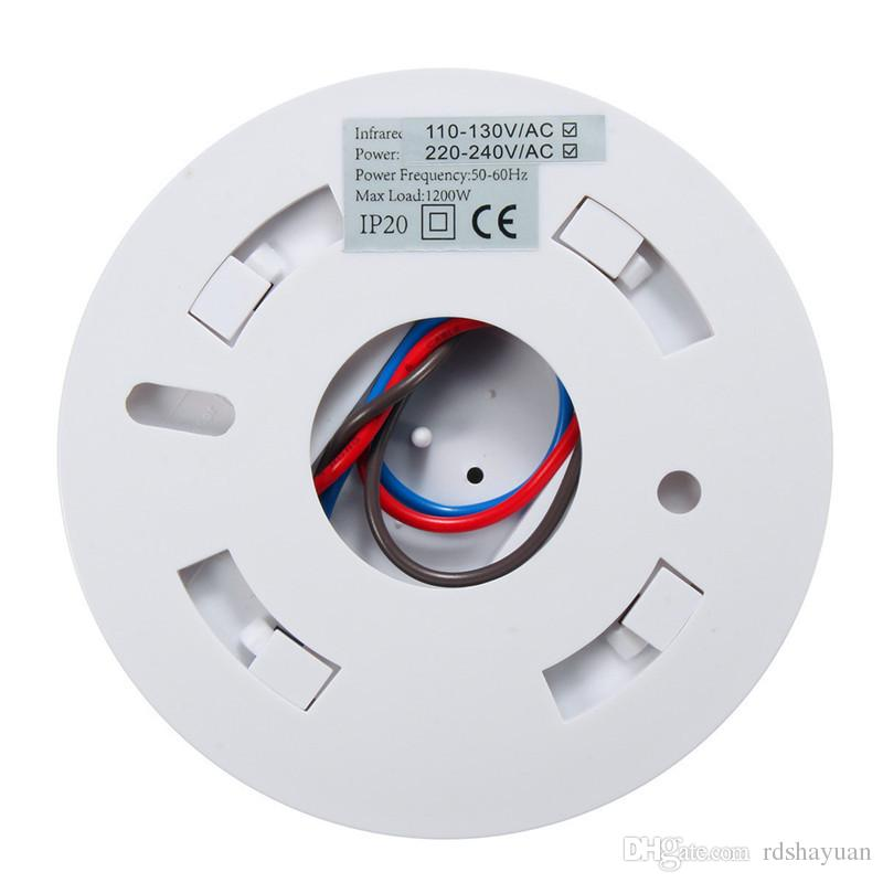 120 Grad Infrarot Körper Bewegung Sensor Detektor Schalter Hohe Empfindliche 110 V AC - 240 V 800 Watt Bewegungssensor Automatische Lichtschalter