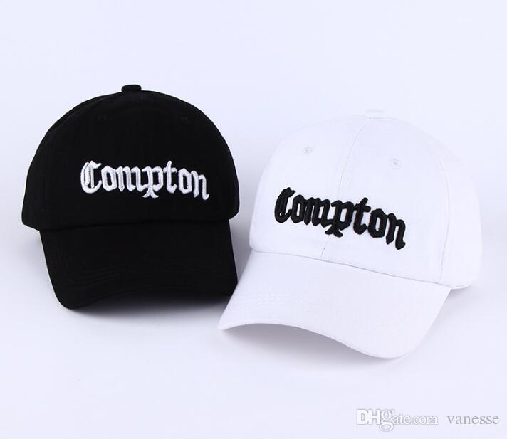682edf161f52c 2019 West Beach Gangsta City Crip N.W.A Eazy E Compton Skateboard Cap Snapback  Hat Hip Hop Fashion Baseball Caps Adjust Flat Brim Cap From Marigolder