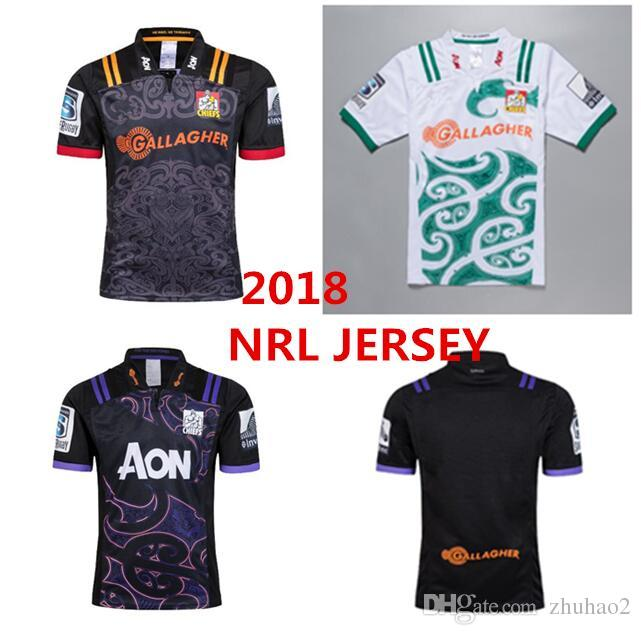 0e7badbd72e 2019 2018 19 Chiefs Super Rugby Home Jersey New Zealand Super Chiefs Blues  Hurricanes Crusaders Highlanders Chiefs Rugby Jersey SIZE S 3XL From  Zhuhao2, ...