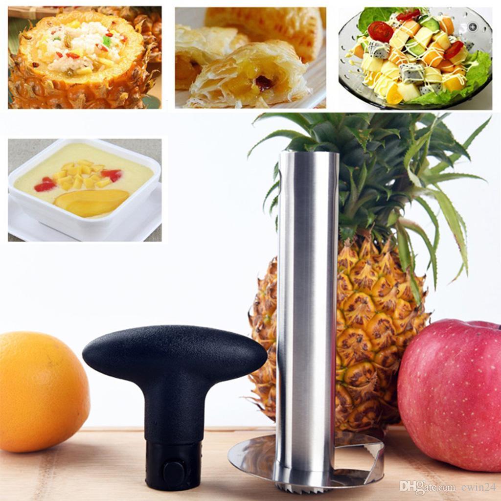 5х ананас Бур Slicer Cutter нож из нержавеющей стали фруктов овощей нож кухня гаджета аксессуары прямая поставка