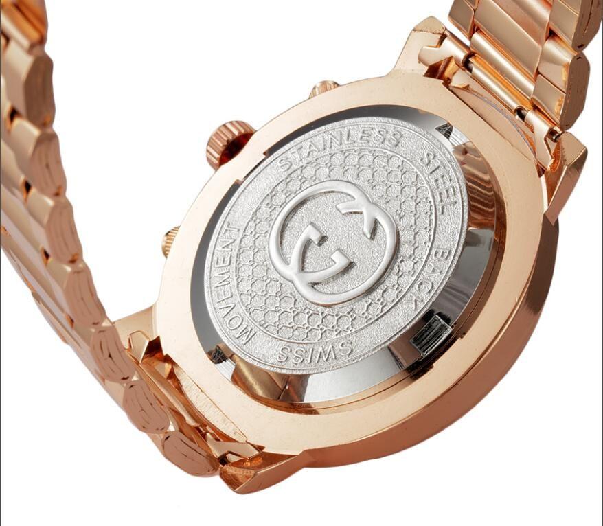 gold woman diamond flower watches 2018 brand luxury nurse ladies dresses female Folding buckle wristwatch gifts for girls
