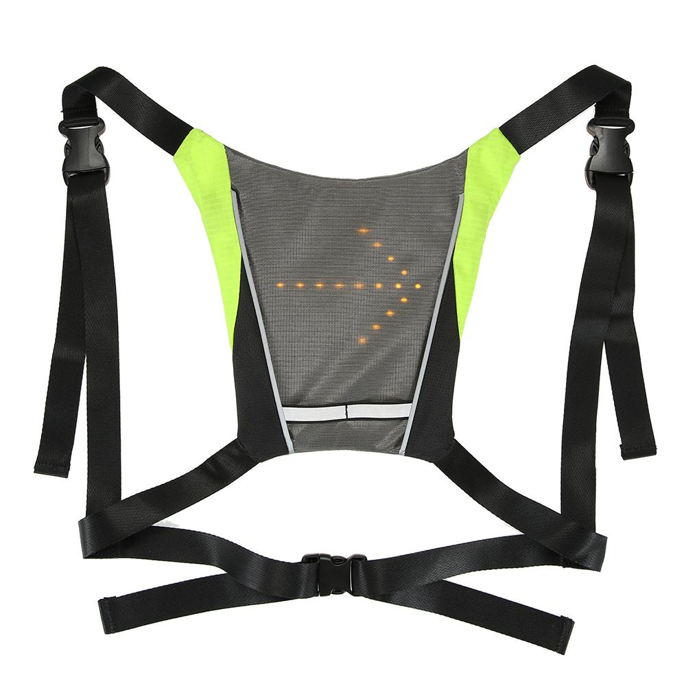 Wireless Remote Control Reflective Safety Vest With Led Signals Cycling Running Safe Waterproof Rechargeable Bike Accessories Wide Varieties Bicycle Light Back To Search Resultssports & Entertainment