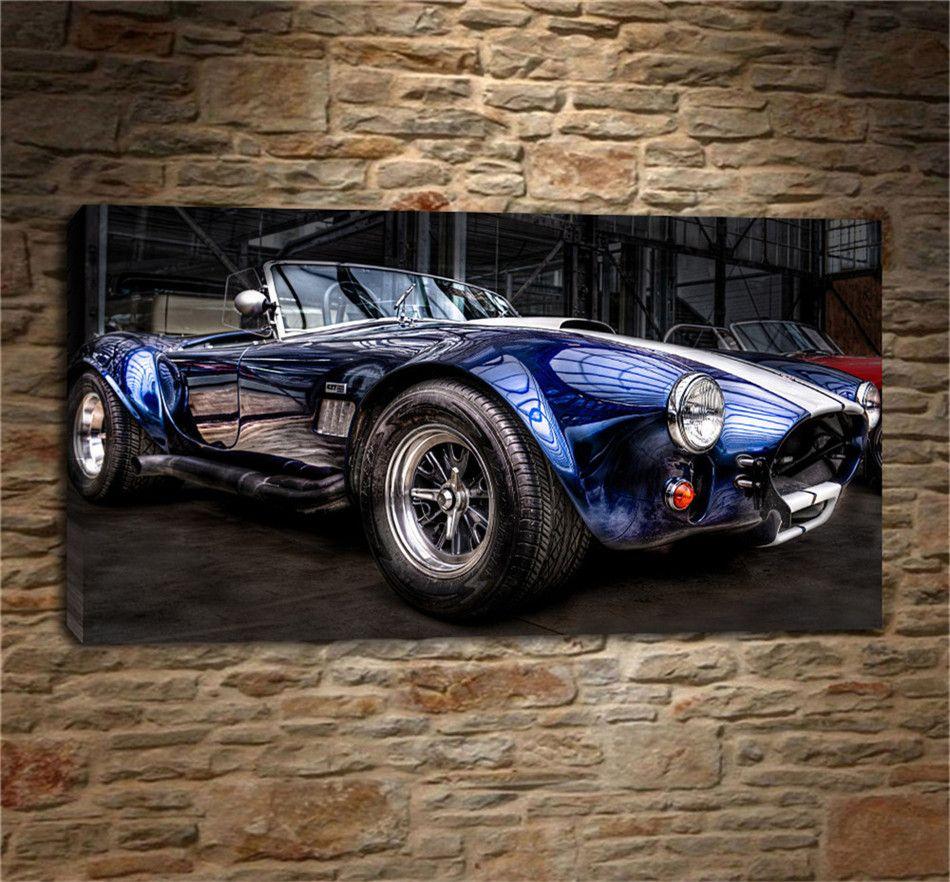 2019 car ford shelby cobrahome decor hd print modern art canvas unframed framed from xiaolin2018 5 98 dhgate com