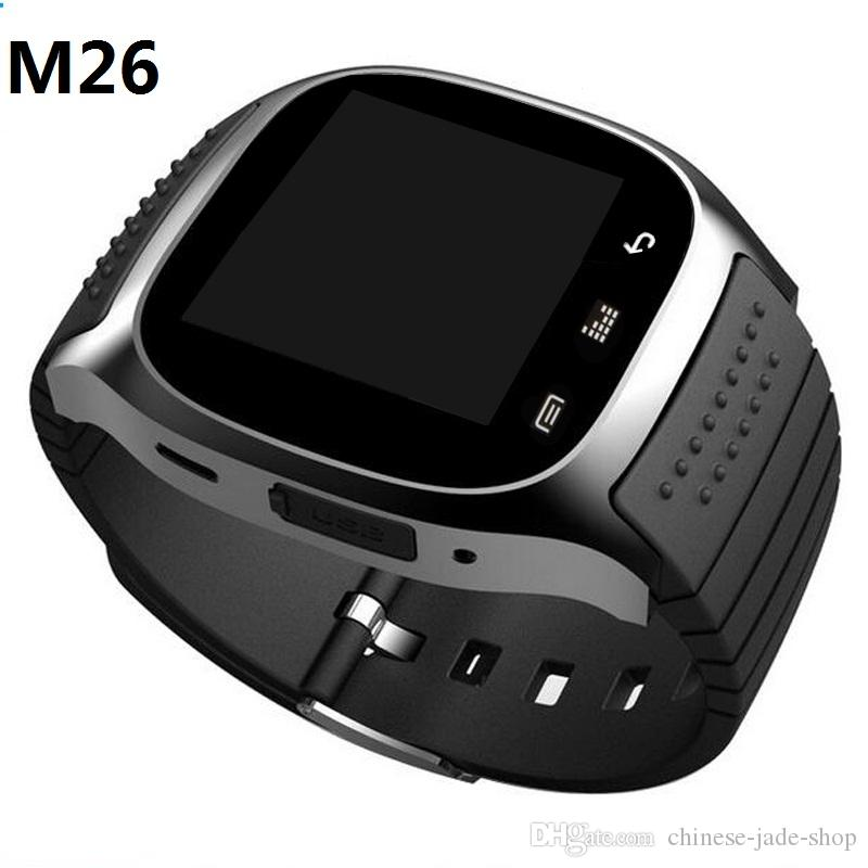M26 Bluetooth Clock Smart Watches Android Wearable Devices Social App / Call Reminder Smartwatch 20PCS/LOT