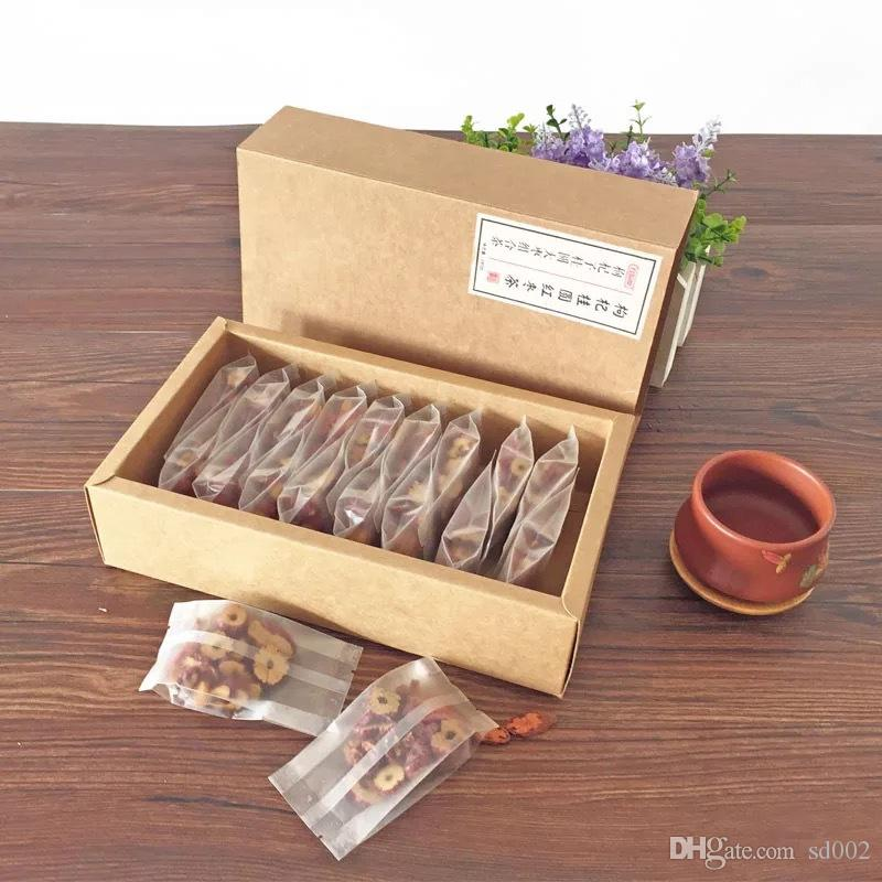 Brown Kraft Paper Drawer Box Wedding Birthday Party Favor Gift Candy Cardboard Boxes Rectangle Package Case For Scented Tea 1hj5 YY