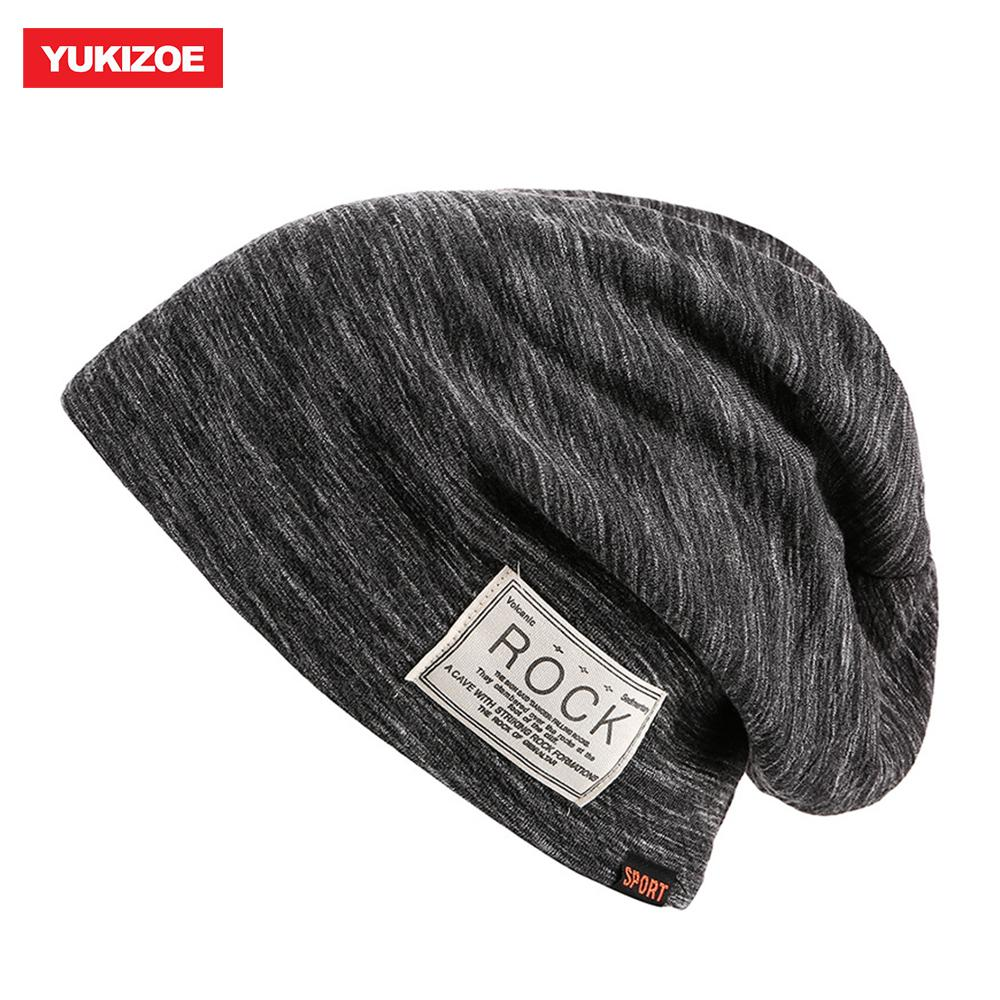 100% Quality Hats For Men Beanies Knitted Bone Solid Color Cap Winter Womens Hat Gorro Cap Korean Stitching Color Knitted Hat Outstanding Features Apparel Accessories
