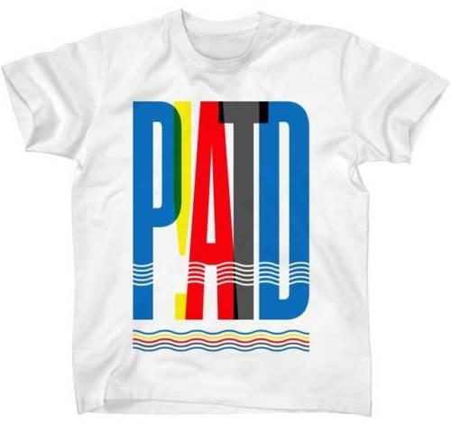 6dad28e0 Panic At The Disco PATD Overlap T Shirt Rock Band Merch White New Med Slim  Fit 100% Cotton Casual Printing Short Sleeve Men T Shirt O Neck Online  Tshirt ...