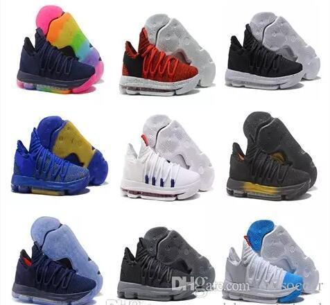 pretty nice f7da3 ed184 Acquista Scarpe Da Pallacanestro Economiche KD 10 EP Elite Scarpe Da  Ginnastica Uomo KD 10s What The Shoes Scarpe Sportive Scarpe Da Uomo Kevin  Durant ...