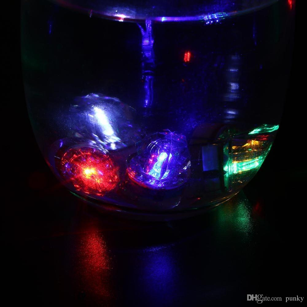 LED Deep Drop Underwater Diamond Fishing Flashing Light Bait Lure Squid Strobe Popular Deep Sea Fish Lamp