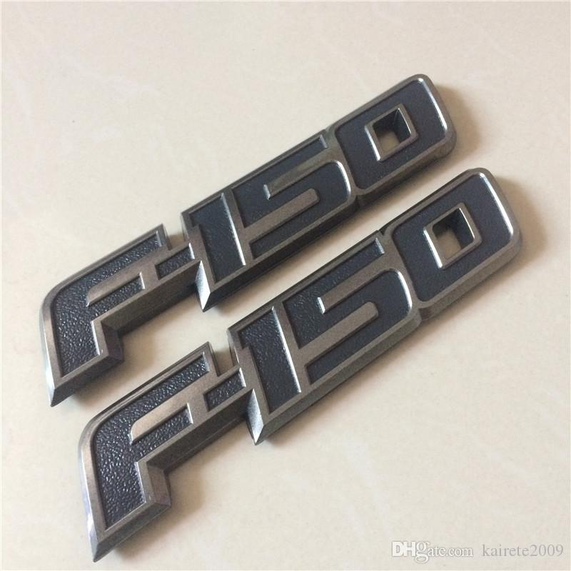 F150 F-150 ABS Car Sticker RED BLACK EMBLEM Boot Rear Badge For Ford