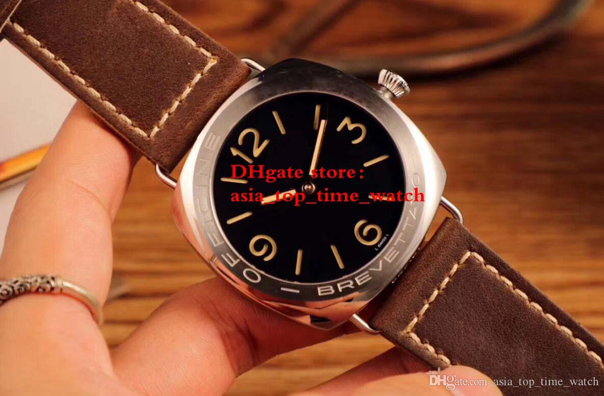 com date automatic dial item mens mechanical power reserve strap parnis alibaba on group black watches aliexpress brown from watch in
