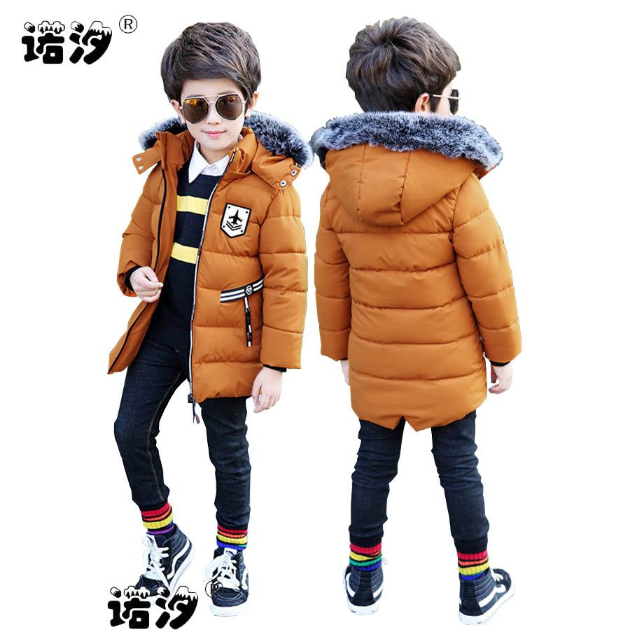 4706b25f8d44 Baby Boys Clothes Kids Winter Cotton Jacket 3 11 Y Boys High Quality ...