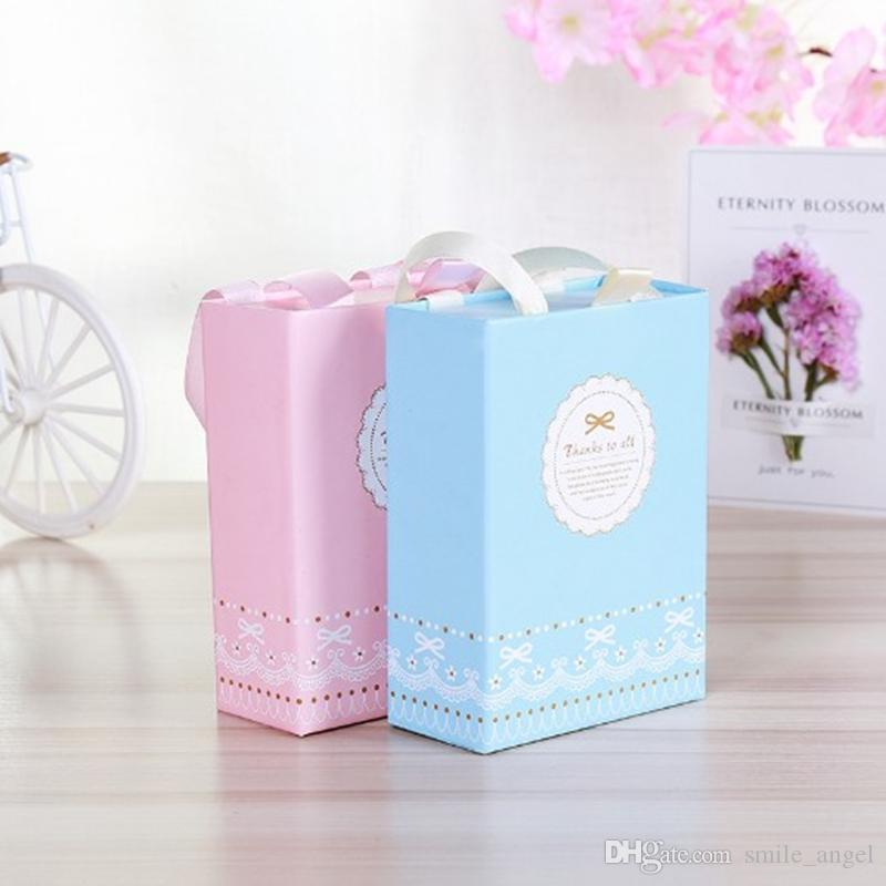 2019 Wedding Favors Box Drawer Candy Boxes Paper Gift Bag Wedding Baby Shower Decorations Home Party Birthday Supplies