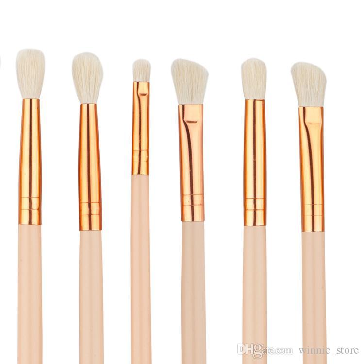 Prix usine DHL gratuit! Haute Qualité Professionnel Cosmétique Yeux Maquillage Pinceau Outils Kits Rose Or Noir Poignée Maquillage Pinceaux Ensemble