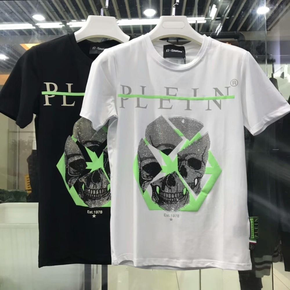 9258afb3e88e Acquista T Shirt A Maniche Corte In Cotone Alta Qualità Uomo 2018 M 3XL 001  A $31.07 Dal Dunhang04 | DHgate.Com