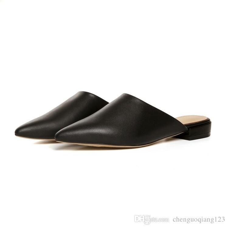 Auf Sandalen Großhandel Slip Zehenschuhe Frauen Spitz SMpUzV