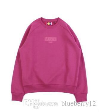 8647fe86b1bb 2019 Mens Designer Sweatshirt INS Hot Sale Unisex Crewneck Sweatshirts Box  Letter Embroidered Designs Brand Clothes From Blueberry12