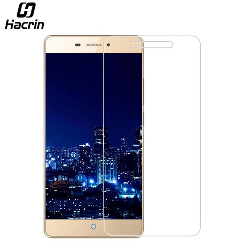 hacrin for ZTE V5 Pro Tempered Glass 9H Anti-knock Screen Protector Film Phone Case for ZTE V5 Pro N939ST 5.5inch Smartphone