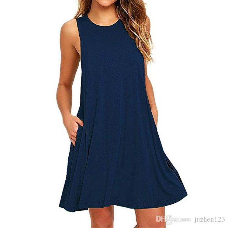 New Fashion 2018 Sexy Casual Dresses Women Summer Evening Party Beach Dress Short Chiffon Mini Dress Womens Clothing Apparel