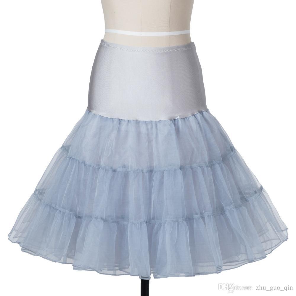 Vintage Short Organza Halloween Petticoat For Bridal Crinoline Petticoat  Wedding Skirt Underskirt Rockabilly Tutu Petticoats Children Petticoat Girl  Dress ... e234b8eb8bad