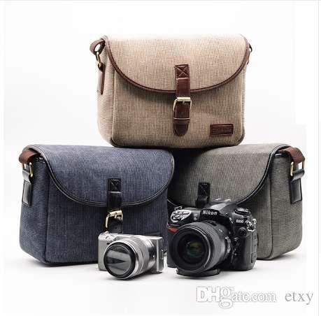 2019 Retro Photo Camera Bag Case Cover For Canon EOS 200D 77D 7D 80D