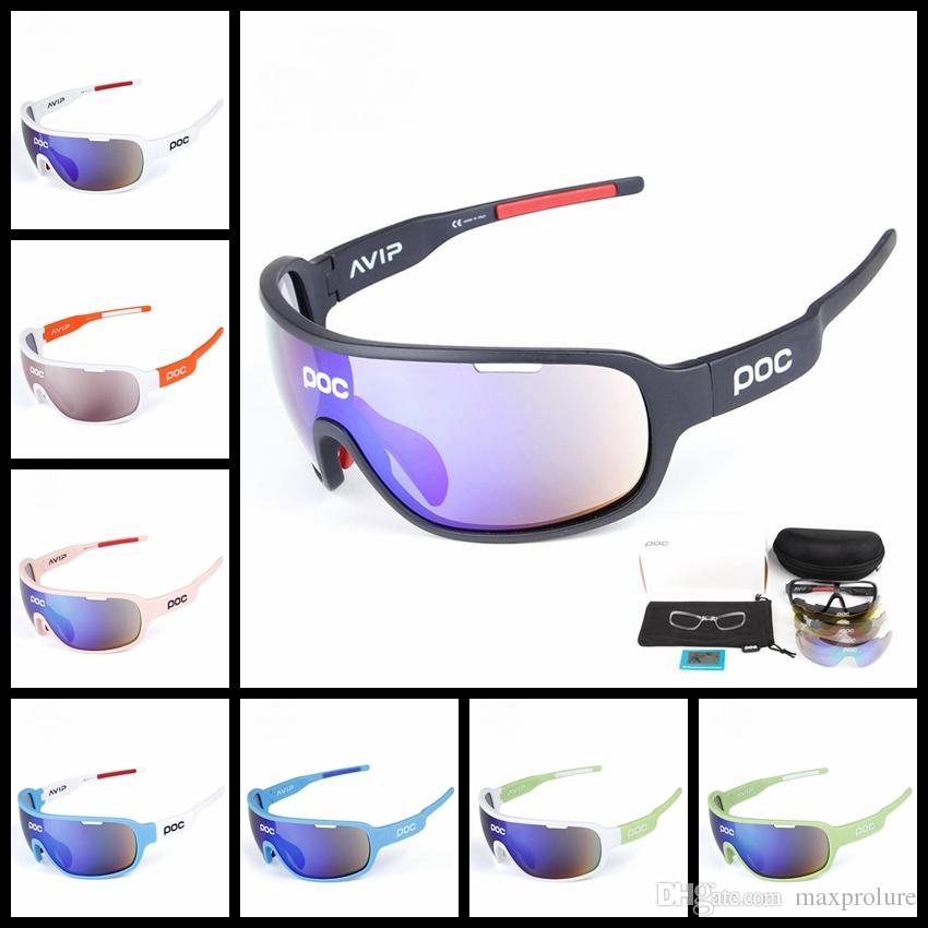 952fcd9717 Brand Polarized Sports Cycling Sunglasses with 5 Interchangeable ...
