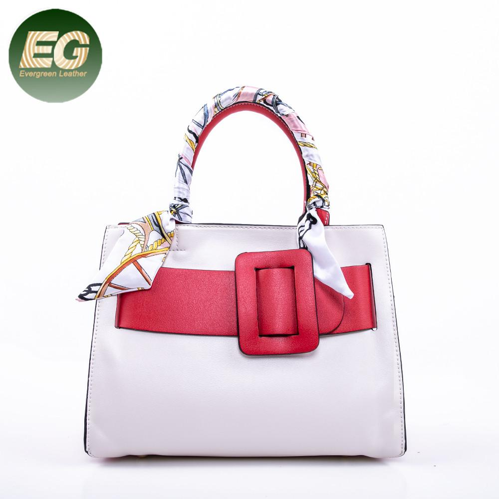 1517f6d1c4 2018 New Fashion Design Women PU Handbag Collision Color Shoulder Bag In  China SH642 Red Handbags Pink Handbags From Totebeauty