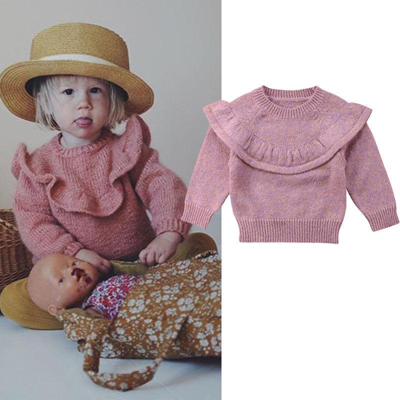 309b8b388f54 Trendy Baby Girls Clothes Long Sleeve Winter Casual Kids Toddler ...