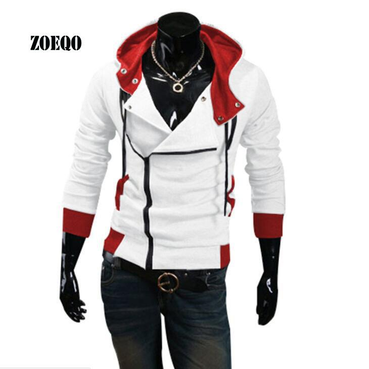 Großhandel ZOEQO Neue Mode Lässig Männer Hoodies Sweatshirt Männer  Trainingsanzug Slim Fit Strickjacke Assassins Creed Hoodies Sweatshirt  Sportbekleidung ... a614f0e8c8
