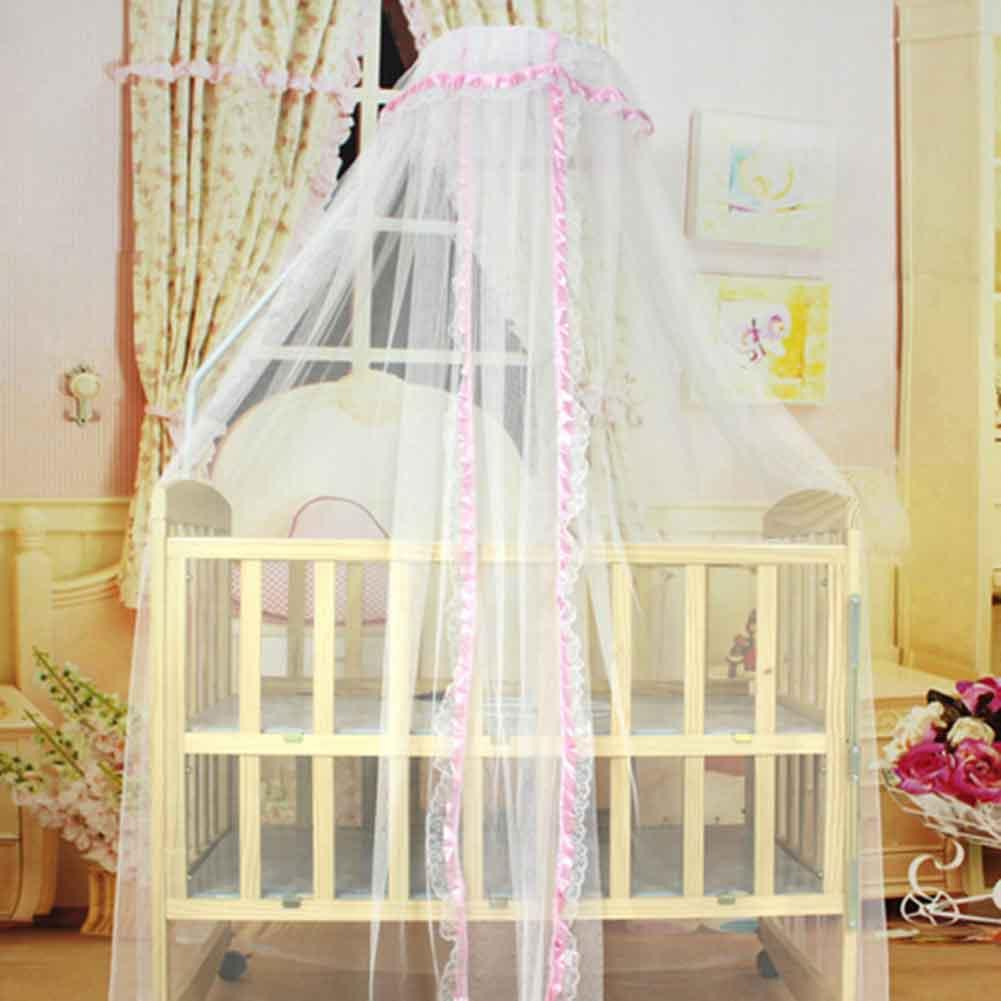 Summer Mosquito Net Baby Bed Cradle Toddler Infant Tents Princess Mesh For Portable Crib Jardine Cat Cot From Singnice